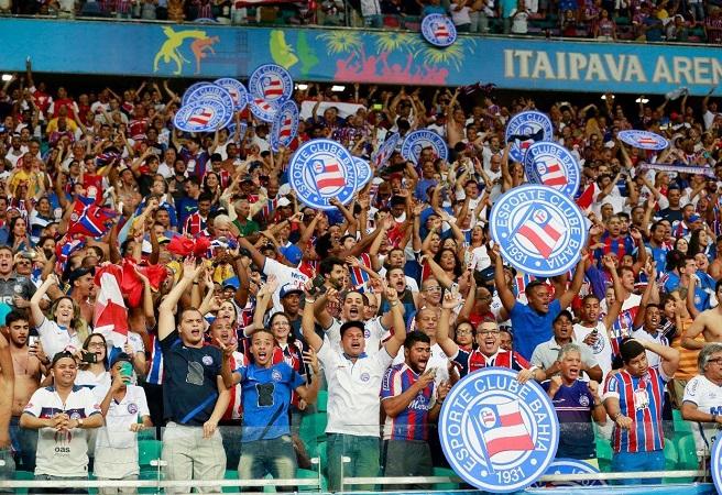 Bahia e São Paulo jogam neste domingo na Arena Fonte Nova