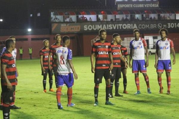 BA-VI termina sem gols no 1º jogo da final do Estadual Sub-20