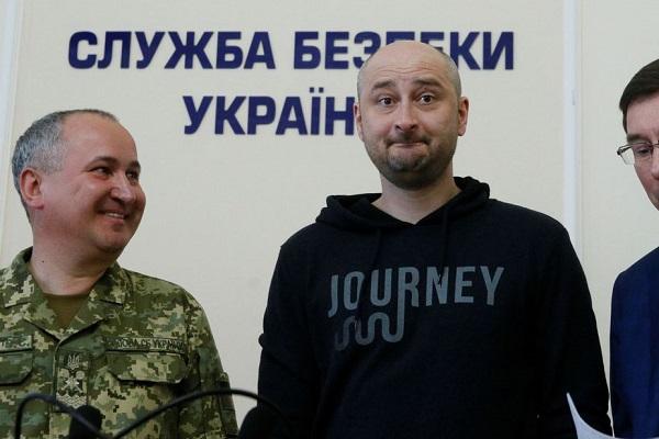 Jornalista russo dado como morto aparece vivo na Ucrânia
