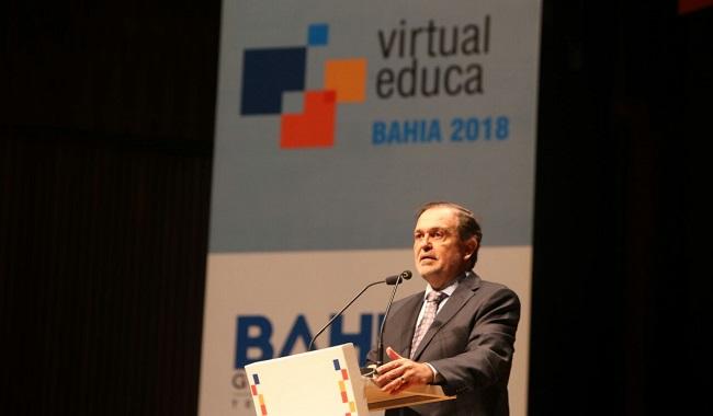 Evento mundial Virtual Educa é aberto no Teatro Castro Alves