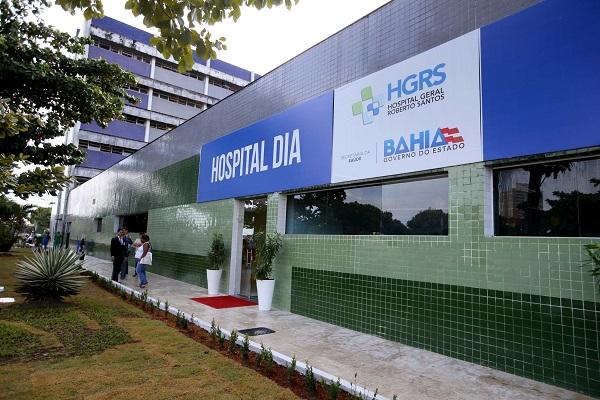 Hospital Dia é inaugurado no Hospital Geral Roberto Santos