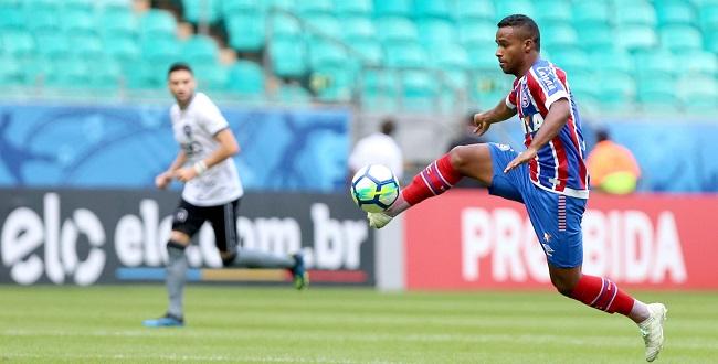 No último minuto, Bahia empata em 3 a 3 com o Botafogo; veja os gols