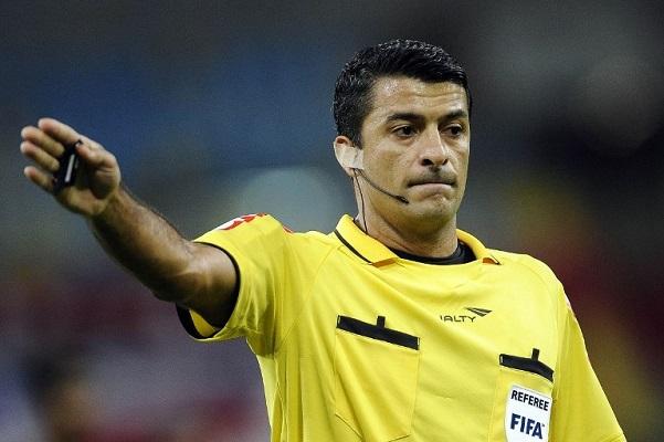 Brasileiro Sandro Meira Ricci é confirmado entre os árbitros da Copa
