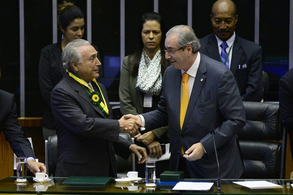 PF atribui a Temer a compra do silêncio de Eduardo Cunha