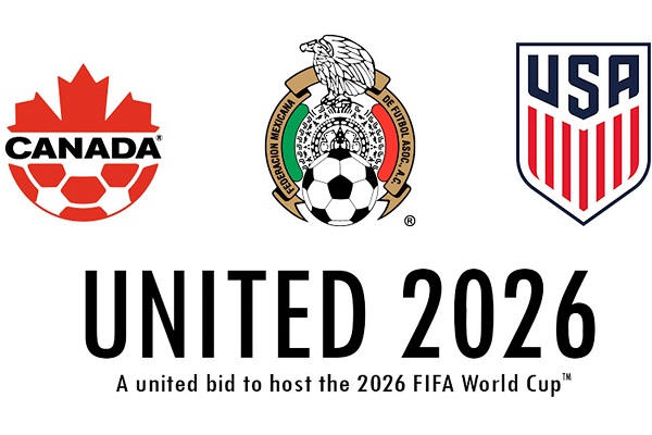 Copa de 2026 será sediada nos EUA, Canadá e México