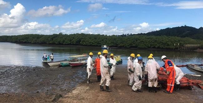 Resultado de imagem para Petrobras: Limpeza de área em Candeias