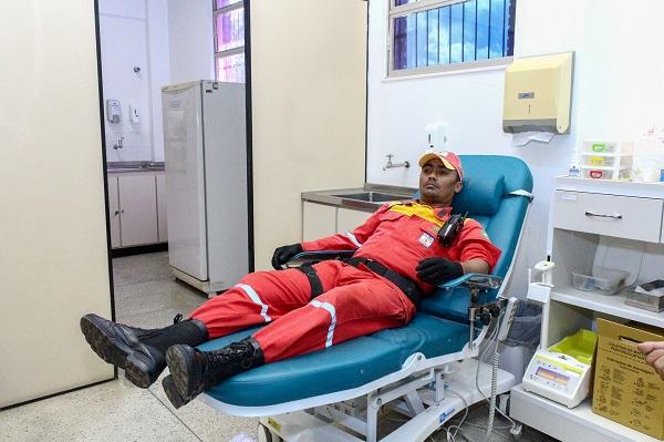 Defesa Civil de Camaçari realiza mobilização para doação de sangue