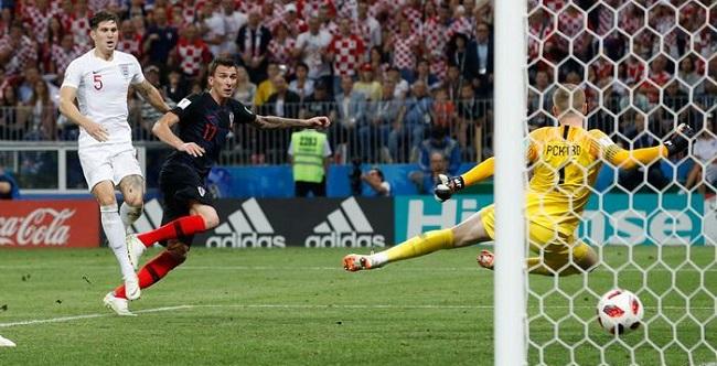Croácia elimina a Inglaterra na prorrogação e está na final da Copa; veja os gols