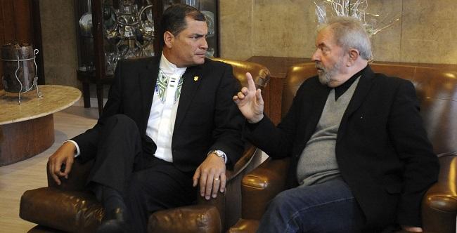 Advogados de Lula vão defender ex-presidente do Equador condenado à prisão
