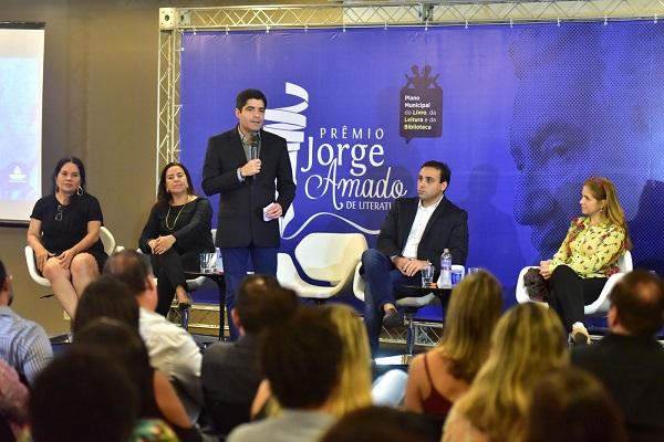 Prêmio Jorge Amado de Literatura inicia inscrições no dia 16