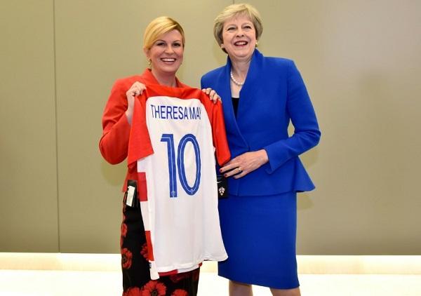 Presidente da Croácia diz estar ansiosa para final da Copa