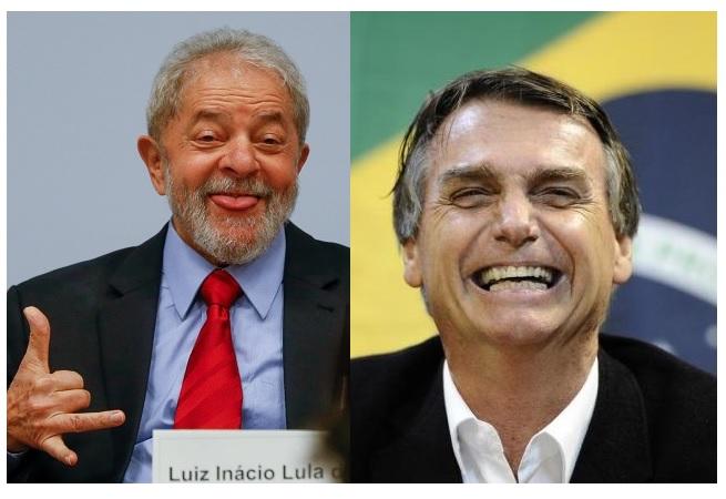 Ibope mostra Lula e Bolsonaro na liderança para eleição de 2018