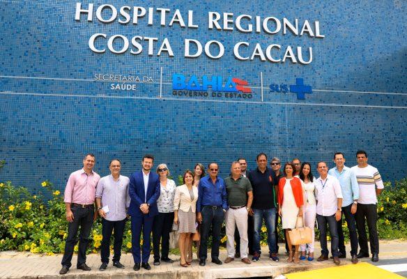 Secretário de Saúde diz que Hospital Costa do Cacau irá funcionar dia 15 de dezembro