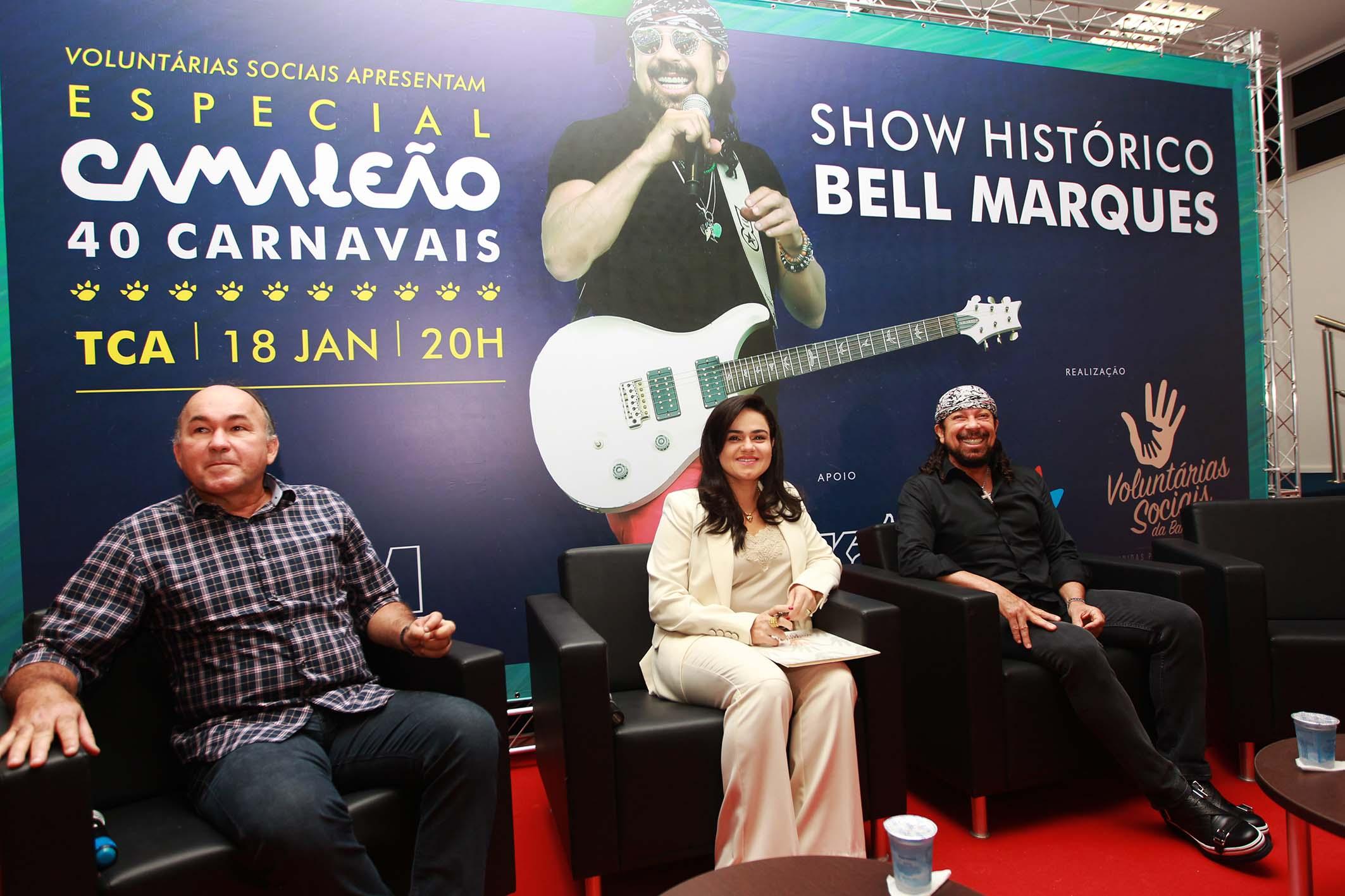 Bell e Voluntárias Sociais farão novo show para o Aristides Maltez em 18 de janeiro
