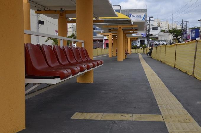Desabastecimento em usina de asfalto adia reabertura do Terminal Urbano de Alagoinhas