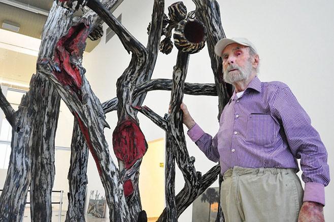 Herdeiros de Frans Krajcberg têm compromisso de preservar acervo do artista