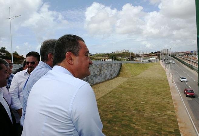 Governador inaugura último viaduto complementar das obras do metrô