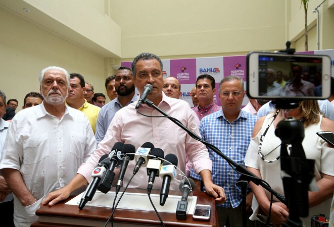 Rui Costa anuncia requalificação do Hospital Frei Justo em Seabra