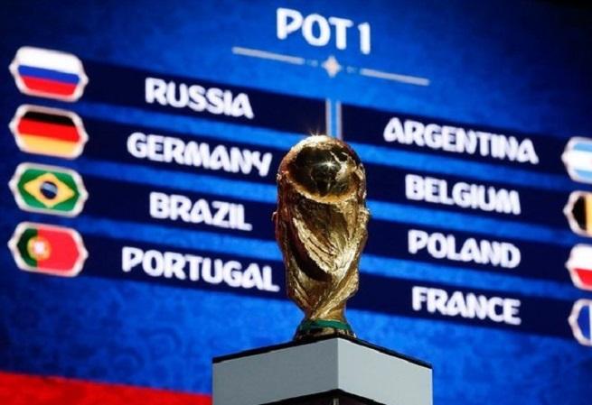 Brasil enfrentará a Suíça na estreia da Copa 2018; confira os grupos