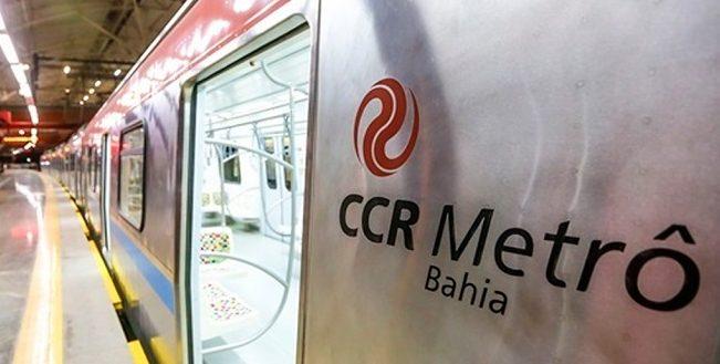 CCR Metrô reforça operação para jogo do Bahia nesta quarta