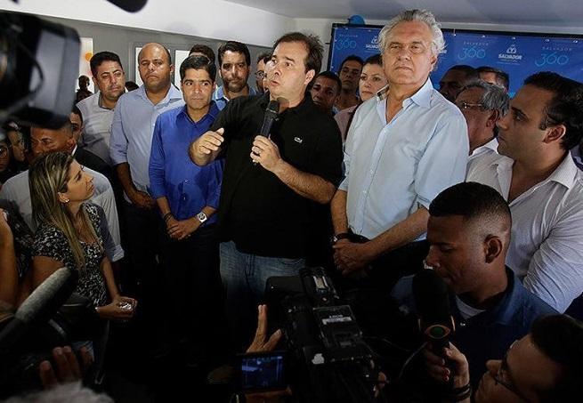 Em Salvador, Rodrigo Maia nega pretensão de ser candidato a presidente