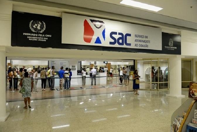 Estado lança licitação para concessão de espaços publicitários na Rede SAC
