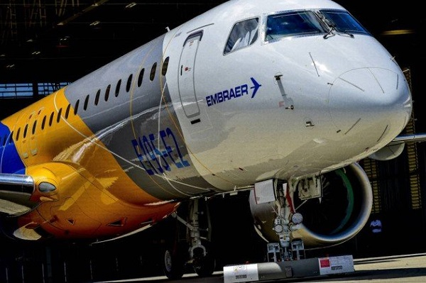 Embraer vende 39 jatos para a United Airlines por US$ 1,9 bi