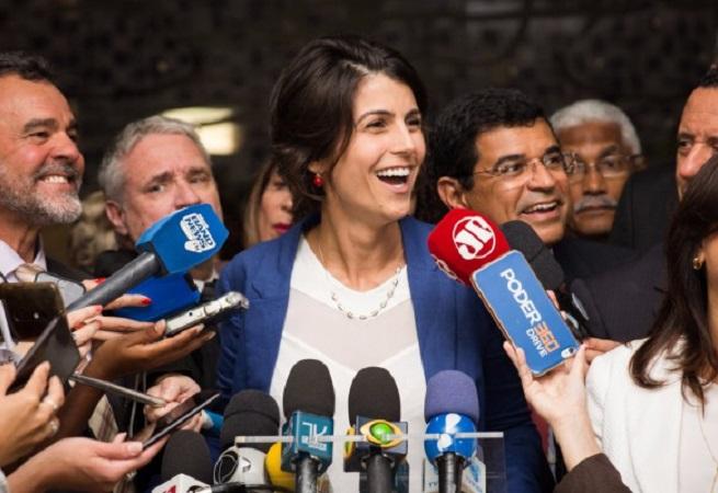 Pré-candidata pelo PCdoB, Manuela D'Ávila virá a Salvador na próxima segunda