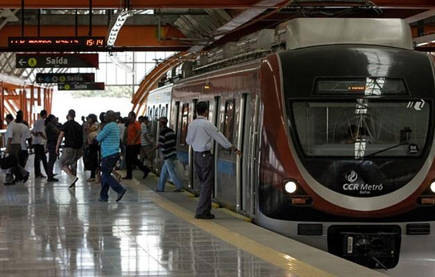 CCR diz que metrô de Salvador vai funcionar normalmente nesta sexta