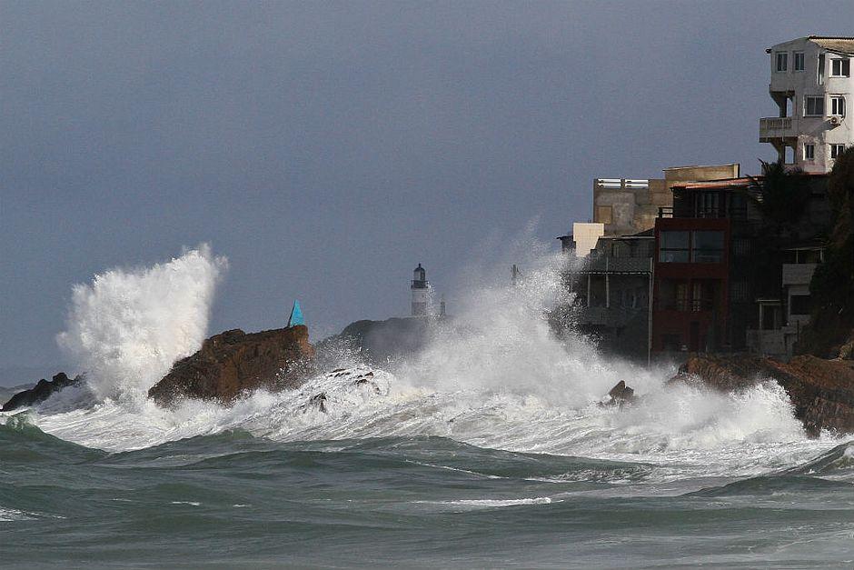 Marinha emite alerta de mau tempo para o Sul da Bahia e Espírito Santo