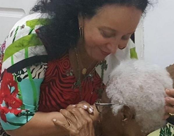 Presidente do TJ-BA, Maria do Socorro Santiago visita Mãe Stella em Nazaré