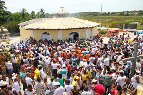 Bom Jesus dos Navegantes encerra ciclo de festas de janeiro em Camaçari