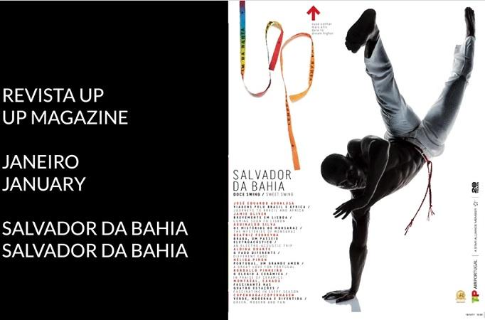 Salvador é destaque na revista portuguesa Up Magazine