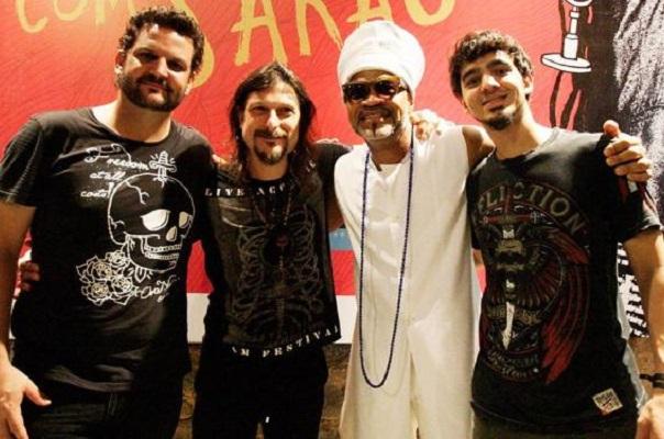 Heavy metal do Angra vai se juntar a Carlinhos Brown no Carnaval de Salvador
