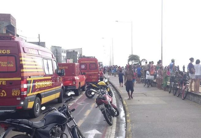Duas pessoas morrem em queda de helicóptero da Globo em Recife