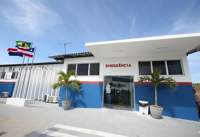 Rui Costa entrega Hospital Geral de Itaparica requalificado
