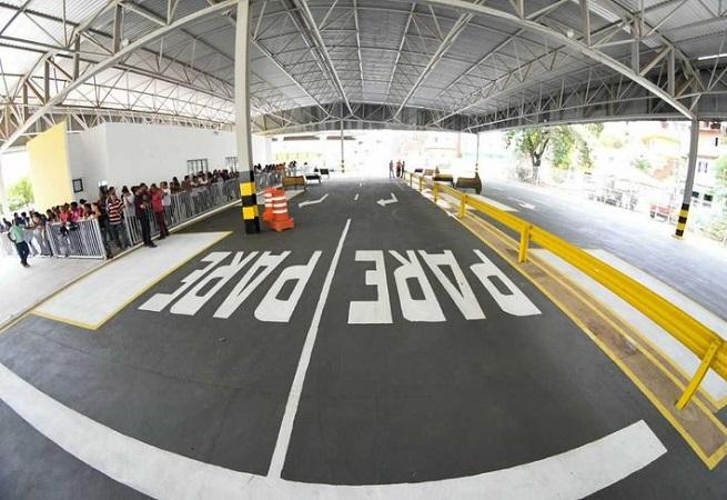 Detran inaugura novo circuito de exames práticos em Salvador