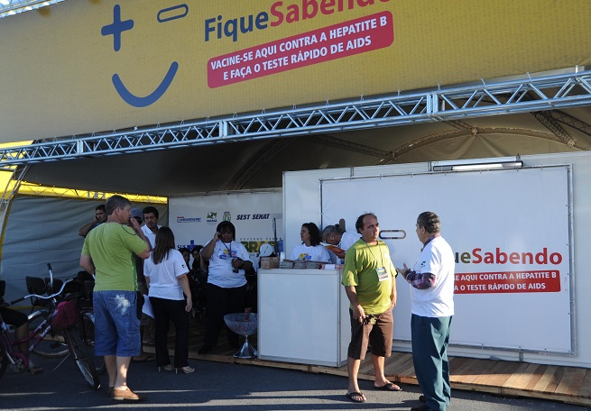 Foliões poderão fazer teste rápido de DSTs no Carnaval de Salvador