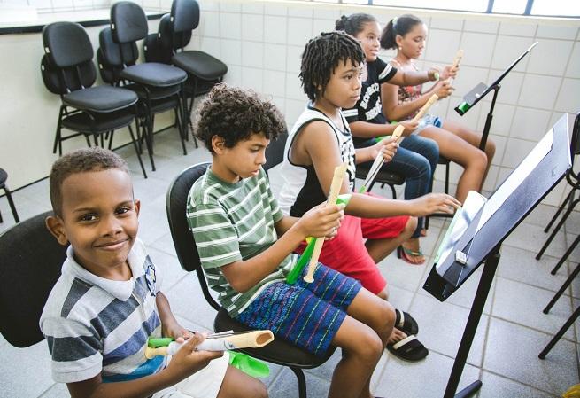 Neojiba abre inscrições para crianças e adolescentes em Salvador e Feira