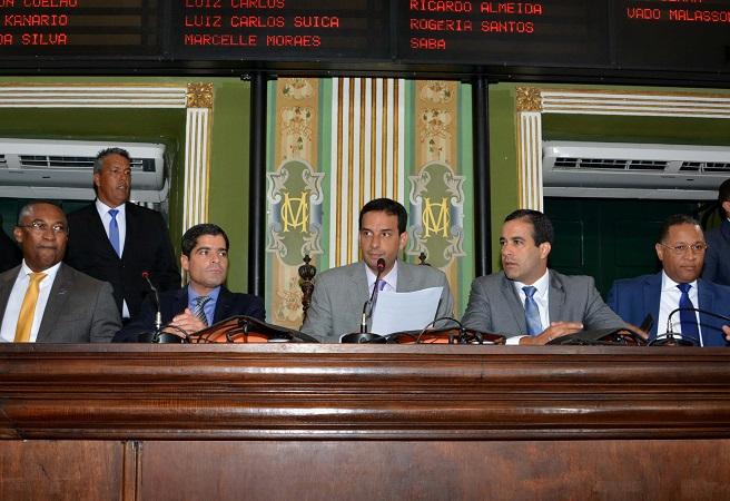 Leo Prates apresenta metas e plano de modernização da Câmara de Salvador