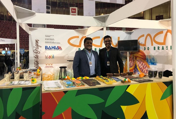 Chocolate do Sul da Bahia é divulgado em festival em Portugal