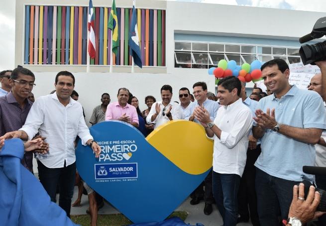 Prefeitura de Salvador entrega creche e pré-escola para 250 crianças em Canabrava
