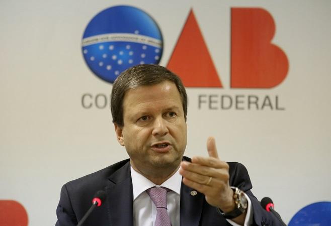Presidente nacional da OAB critica declarações de Segovia