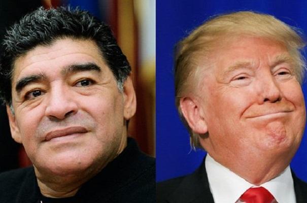 EUA negam visto a Maradona por insulto a Donald Trump