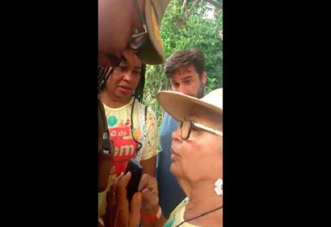 Olívia Santana sofre discriminação política durante evento em hotel em Salvador