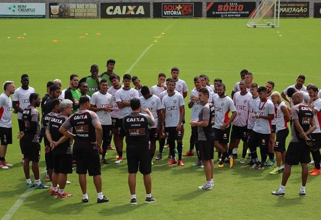 Vitória joga fora de casa contra o Bragantino pela Copa do Brasil