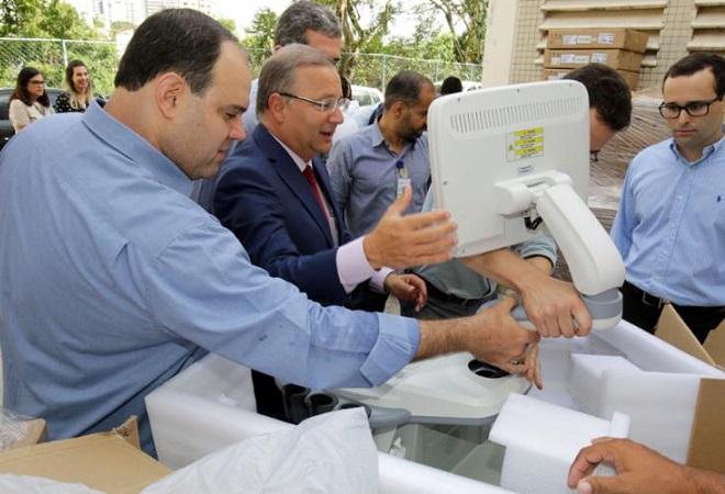 Hospitais do Estado ganham novos aparelhos de ultrassonografia