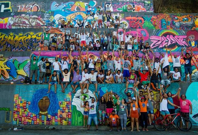 Candeias recebe 4ª edição do Festival de Graffiti Bahia de Todas as Cores