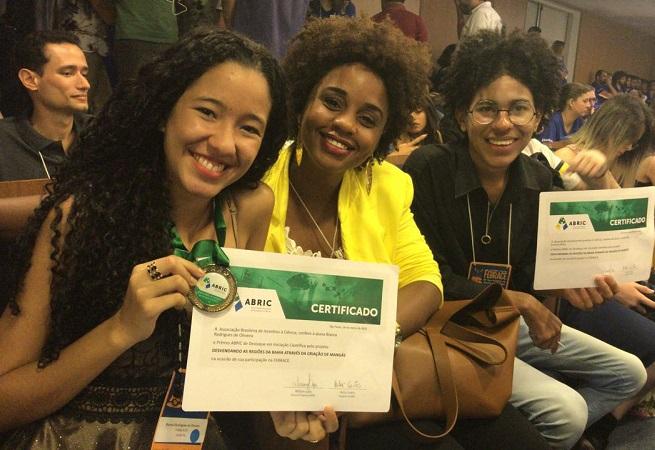 Estudantes baianos são premiados na 16ª Feira Brasileira de Ciências e Engenharia