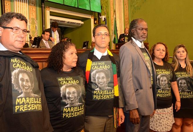Câmara de Salvador tem sessão especial em memória da vereadora Marielle